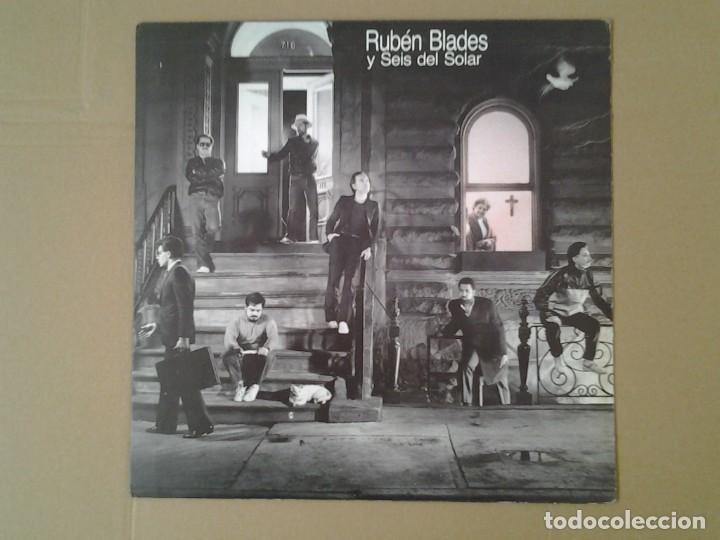 RUBEN BLADES Y SEIS DEL SOLAR -ESCENAS - LP ELEKTRA 1985 ELEKTRA 3.095 EN MUY BUENAS CONDICIONES Y. (Música - Discos de Vinilo - EPs - Jazz, Jazz-Rock, Blues y R&B)