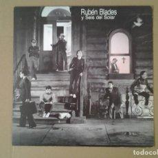 Discos de vinilo: RUBEN BLADES Y SEIS DEL SOLAR -ESCENAS - LP ELEKTRA 1985 ELEKTRA 3.095 EN MUY BUENAS CONDICIONES Y.. Lote 167525256
