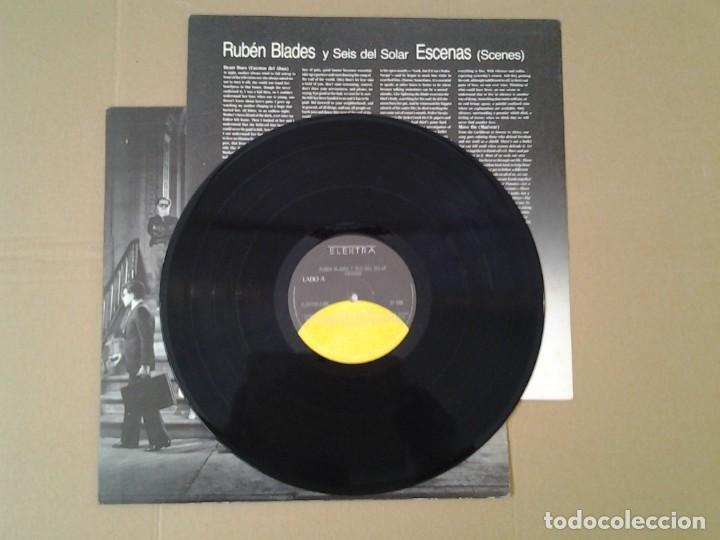Discos de vinilo: RUBEN BLADES Y SEIS DEL SOLAR -ESCENAS - LP ELEKTRA 1985 ELEKTRA 3.095 EN MUY BUENAS CONDICIONES Y. - Foto 3 - 167525256