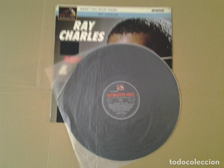 Discos de vinilo: RAY CHARLES -SWEET & SOUR TEARS- LP HMV 1964 CLP 1728 ED. INGLESA BUENAS CONDICIONES. - Foto 3 - 167526200