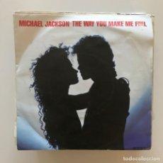 Discos de vinilo: MICHAEL JACKSON - THE WAY YOU MAKE ME FEEL - SINGLE EPIC UK 1987. Lote 167528684