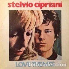 Discos de vinilo: STELVIO CIPRIANI – LOVE THEMES - LP VINILO. Lote 167535432