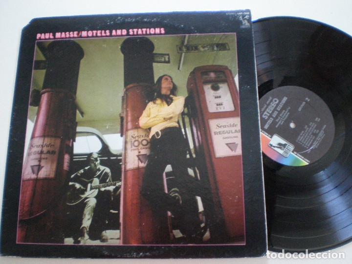 PAUL MASSE - MOTELS AND STATIONS - USA LP VINYL LIBERTY 1969 // FOLK ROCK PSYCH (Música - Discos - LP Vinilo - Pop - Rock Extranjero de los 50 y 60)