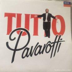 Discos de vinilo: LP DOBLE TUTTO PAVAROTTI. Lote 167543646