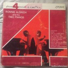 Discos de vinilo: RONNIE ALDRICH AND HIS TWO PIANOS. Lote 167543994
