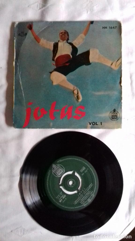 JOTAS - VOL. 1 - CANTA ENCARNITA RODRÍGUEZ SINGLE (Música - Discos de Vinilo - Maxi Singles - Étnicas y Músicas del Mundo)