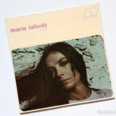 Discos de vinilo: EP: MARIE LAFORÊT VOL XVI - QUE CALOR LA VIDA + MAIS MON COEUR EST VIDE + 2 (FESTIVAL, 1969) CHANSO. Lote 167547596