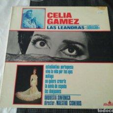 Discos de vinilo: CELIA GÁMEZ, ORQUESTA SINFÓNICA, CARLOS S. LUQUE - LAS LEANDRAS (SELECCIÓN) (LP, ALBUM). Lote 167552469