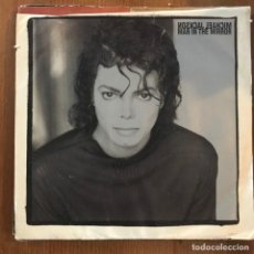 Discos de vinilo: MICHAEL JACKSON - MAN IN THE MIRROR - SINGLE EPIC USA 1987. Lote 167561824