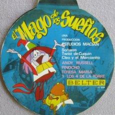 Discos de vinil: MAGO DE LOS SUEÑOS, EL: ANDY RUSSELL: SOÑARÁS / LOS 4 DE LA TORRE: CLEO Y EL MARCIANITO. Lote 167565136