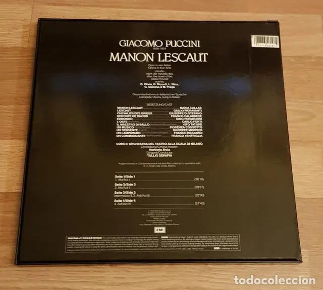 Discos de vinilo: Doble Vinilo María Callas - Foto 2 - 167565292