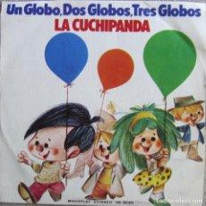 Disques de vinyle: LA CUCHIPANDA: UN GLOBO, DOS GLOS, TRES GLOBOS / NUESTRA CANCIÓN. Lote 167566344