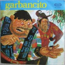 Discos de vinilo: GARBANCITO (TEATRO INFANTIL SAMANIEGO): GARBANCITO / GARBANCITO (CONTINUACIÓN). MOVIEPLAY. Lote 167567084
