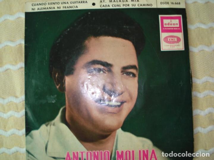 EP , ANTONIO MOLINA, 1965 (Música - Discos de Vinilo - EPs - Flamenco, Canción española y Cuplé)