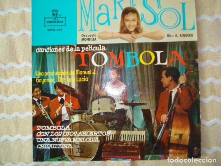 EP MARISOL TOMBOLA , 1962 (Música - Discos de Vinilo - EPs - Solistas Españoles de los 50 y 60)