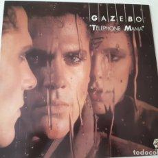 Discos de vinilo: GAZEBO- TELEPHONE MAMA - SPAIN PROMOCIONAL LP 1984 + ENCARTE - COMO NUEVO.. Lote 167569120