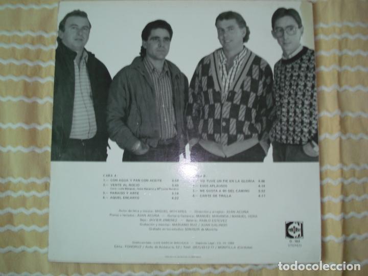 Discos de vinilo: LP ECOS DEL ROCIO ESOS APLAUSOS , 1988 - Foto 2 - 167570264
