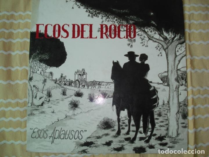 LP ECOS DEL ROCIO ESOS APLAUSOS , 1988 (Música - Discos - LP Vinilo - Flamenco, Canción española y Cuplé)