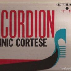 Discos de vinilo: LP DOMINIC CORTESE ACCORDION TIME REC. 2029 SERIE 2000 USA 1963??? GATEFOLD AL CAIOLA. Lote 167570424