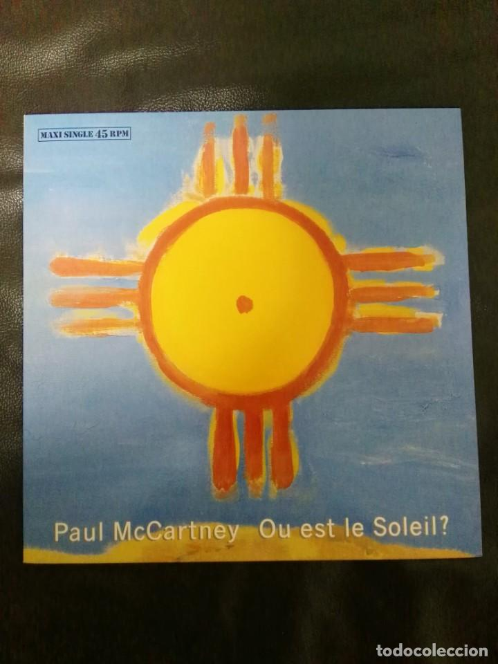 Discos de vinilo: Maxi single Paul McCartney edición España BEATLES - Foto 1 - 167573240