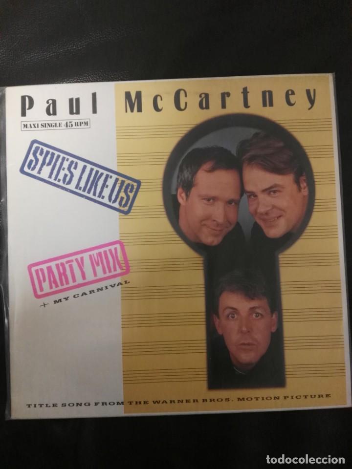 MAXI SINGLE PAUL MCCARTNEY EDICIÓN ESPAÑA BEATLES (Música - Discos de Vinilo - Maxi Singles - Pop - Rock - New Wave Extranjero de los 80)