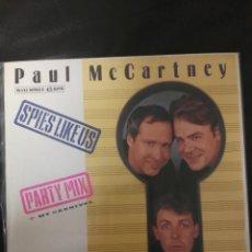 Discos de vinilo: MAXI SINGLE PAUL MCCARTNEY EDICIÓN ESPAÑA BEATLES . Lote 167573368
