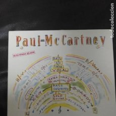 Discos de vinilo: MAXI SINGLE PAUL MCCARTNEY EDICIÓN ESPAÑA BEATLES . Lote 167573568