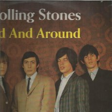 Discos de vinilo: ROLLING STONES AROUND. Lote 167577724