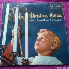 Discos de vinilo: LP VINILO MÚSICA CHRISTMAS CAROLS. Lote 167578014