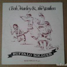 Discos de vinilo: BOB MARLEY & THE WAILERS - BUFFALO SOLDIER - MAXI-SINGLE TUFF-GONG ED. ESPAÑOLA 1983 F-608.863. Lote 167579764