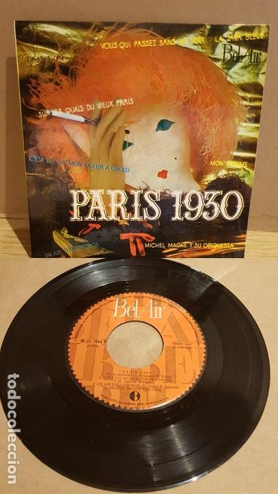 MICHEL MAGNE Y SU ORQUESTA / PARÍS 1930 / EP - BEL AIR-1960 / MBC. ***/*** (Música - Discos de Vinilo - EPs - Orquestas)