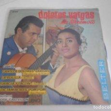 Discos de vinilo: DOLORES VARGAS LA TERREMOTO-EP CANTO A DOLORES VARGAS +3. Lote 167590072