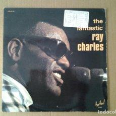 Discos de vinilo: RAY CHARLES - THE FANTASTIC RAY CHARLES- DOBLE LP DISQUES FESTIVAL ED. FRANCESA ALBUM 103. Lote 167594800