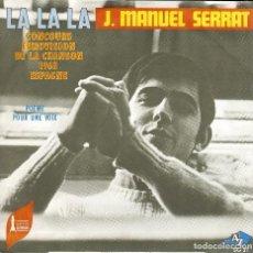 Discos de vinilo: JOAN MANUEL SERRAT LA, LA, LA ( FRANCIA CANTA EN FRANCES ) . Lote 167596004