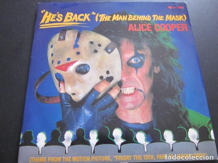 Alice Cooper He S Back The Man Behind The Mas Vendido En Venta Directa 167596884