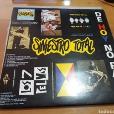 Discos de vinilo: DISCO VINILO LP SINIESTRO TOTAL. Lote 167601452