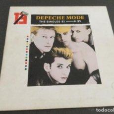 Discos de vinilo: DEPECHE MODE- THE SINGLES 81—-85 . Lote 167605228