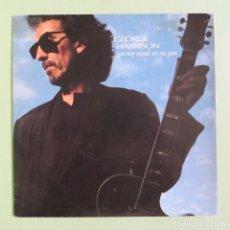 Discos de vinilo: THE BEATLES - GEORGE HARRISON - GOT MY MIND SET ON YOU (RARO PROMOCIONAL ESPAÑOL) (VINILO NUEVO). Lote 167607220