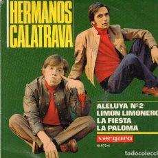 Discos de vinilo: EP 1969 - HERMANOS CALATRAVA. Lote 167610312