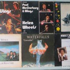 Discos de vinilo: THE BEATLES - LOTE 6 SINGLES MCCARTNEY WINGS (EDICION ESPAÑOLA). Lote 167621948