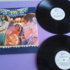 Discos de vinilo: DOBLE LIVE. REO SPEEDWAGON.SELLO EPIC EPC 451128 1. AÑO 1979. UK.PORTADA ABIERTA.. Lote 167626444