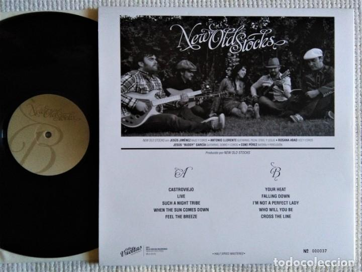 Discos de vinilo: NEW OLD STOCKS - NEW OLD STOCKS LP GATEFOLD NUMERADO 037 SPAIN 2012 - Foto 3 - 167627184