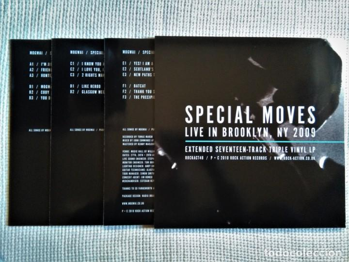 Discos de vinilo: MOGWAI - SPECIAL MOVES 3 LP + CD + DVD + POSTER... BOX SET UK 2010 - Foto 4 - 167627696