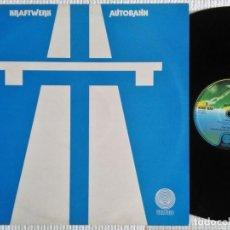 Discos de vinilo: KRAFTWERK - '' AUTOBAHN '' LP 1ST PRESSING EMBOSSED 1974 UK. Lote 167629516