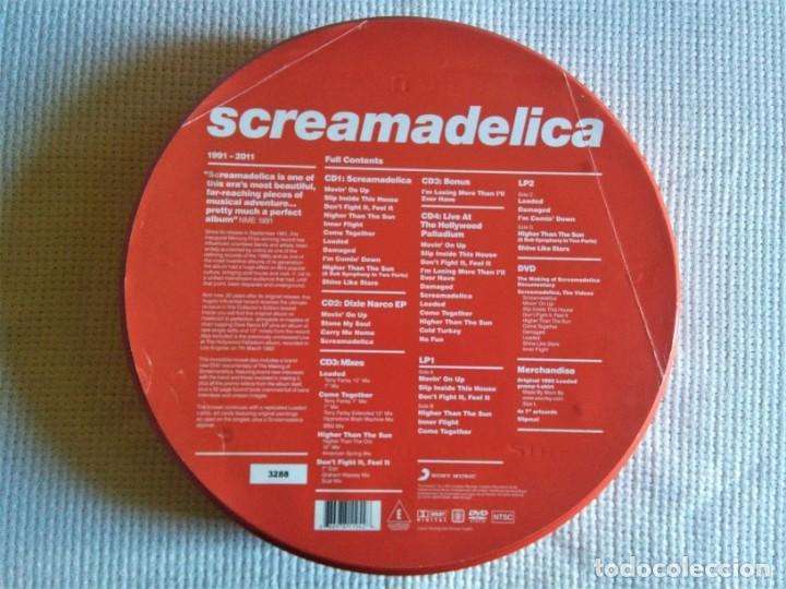 Discos de vinilo: PRIMAL SCREAM - SCREAMADELICA 2 LP + 4CD + DVD NUMERADO #3288 BOX SET 2011 EU - Foto 2 - 167631112