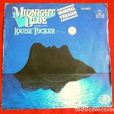 Discos de vinilo: LOUISE TUCKER (SINGLE 1983) MIDNIGHT BLUE - A PROJECT WITH. Lote 167631968