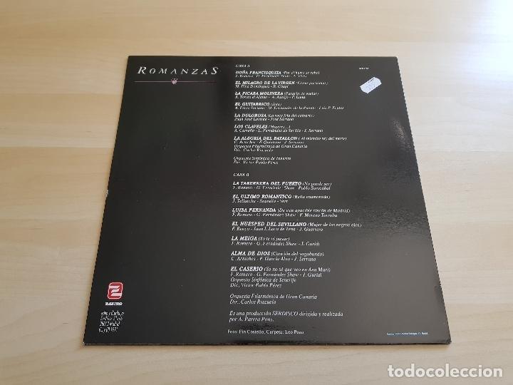 Discos de vinilo: ALFREDO KRAUS - ROMANZAS - LP - VINILO - ZAFIRO - 1991 - Foto 2 - 167633452