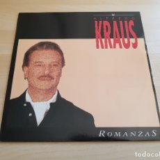 Discos de vinilo: ALFREDO KRAUS - ROMANZAS - LP - VINILO - ZAFIRO - 1991. Lote 167633452