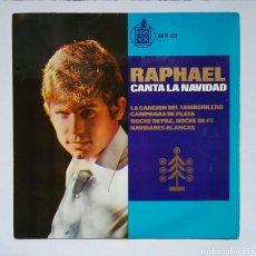 Discos de vinilo: RAPHAEL CANTA LA NAVIDAD. Lote 167634822