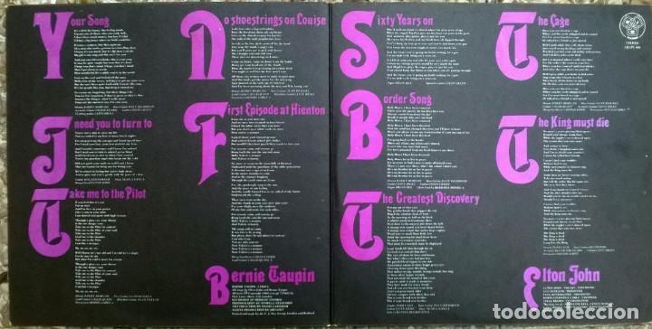 Discos de vinilo: Elton John. Elton John. DJM (DJLPS 406), UK 1970 LP + doble carpeta texturada - Foto 2 - 167659056